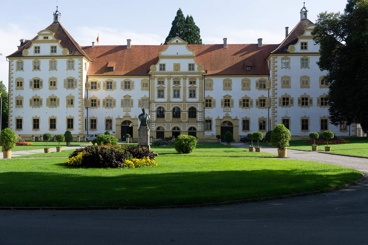 A palace in Salem, Germany.